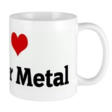 I Love Power Metal Small Mug