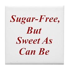 Sugar-Free Tile Coaster