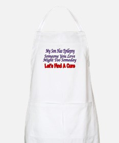 My Son Has Epilepsy Find A Cure BBQ Apron