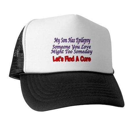My Son Has Epilepsy Find A Cure Trucker Hat