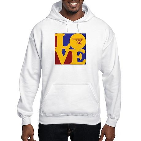 Hang Gliding Love Hooded Sweatshirt