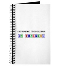Clerical Assistant In Training Journal