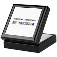 Clerical Assistant In Training Keepsake Box