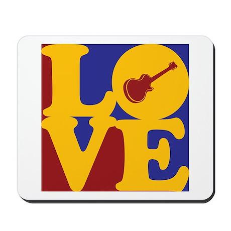 Guitar Love Mousepad