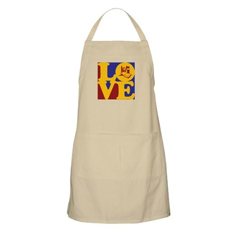 Grad School Love BBQ Apron