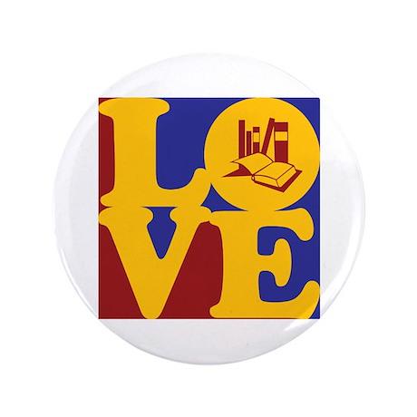 """Grad School Love 3.5"""" Button"""