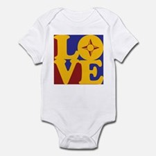 Geography Love Infant Bodysuit