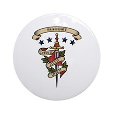 Love History Ornament (Round)