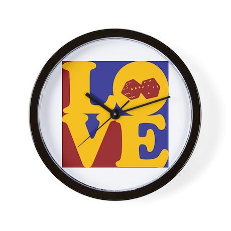 Gaming Love Wall Clock