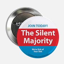"Silent Majority 2.25"" Button"