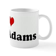 I Love John Adams Mug