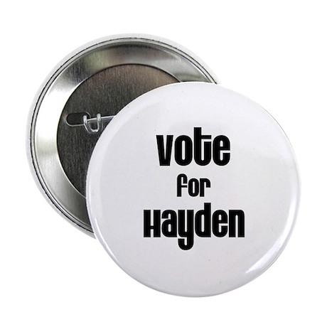"""Vote for Hayden 2.25"""" Button (100 pack)"""