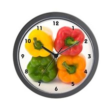 Wall Clock - Peppers!