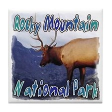 Rocky Mountain National Park Tile Coaster