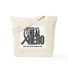Never Knew A Hero 2 Grey Ribbon Sister Tote Bag