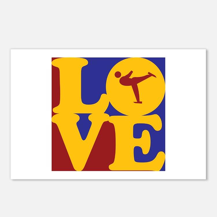 Figure Skating Love Postcards (Package of 8)