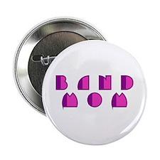 "Retro Band Mom 2.25"" Button (10 pack)"