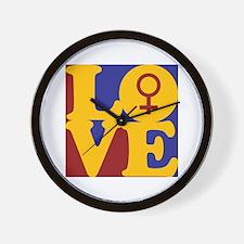 Feminism Love Wall Clock