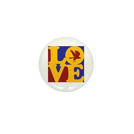 Falconry Love Mini Button (100 pack)