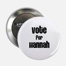 Vote for Hannah Button