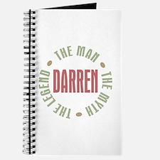 Darren Man Myth Legend Journal