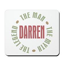 Darren Man Myth Legend Mousepad