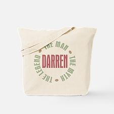 Darren Man Myth Legend Tote Bag