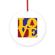 Environmental Engineering Love Ornament (Round)