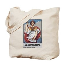 1917 US Navy Poster Tote Bag