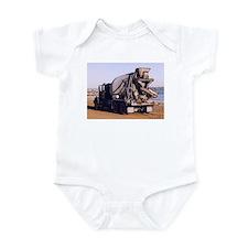 Cement Truck 2 Infant Bodysuit