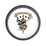 Love Forensic Science Wall Clock