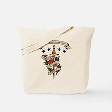Love Forensic Science Tote Bag