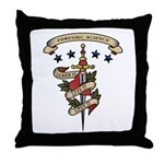 Love Forensic Science Throw Pillow