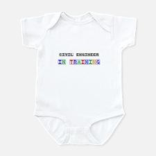 Civil Engineer In Training Infant Bodysuit