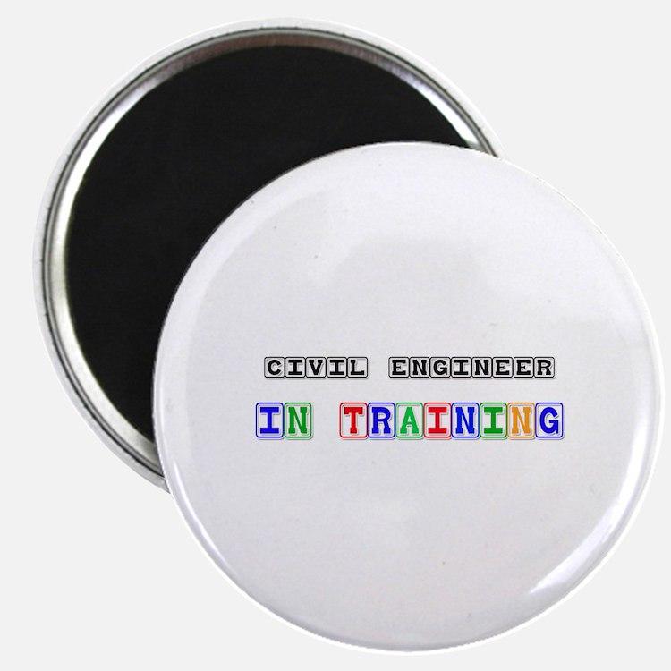 Civil Engineer In Training Magnet