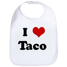 I Love Taco Bib