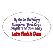 My Step Son Has Epilepsy Find A Cure Decal