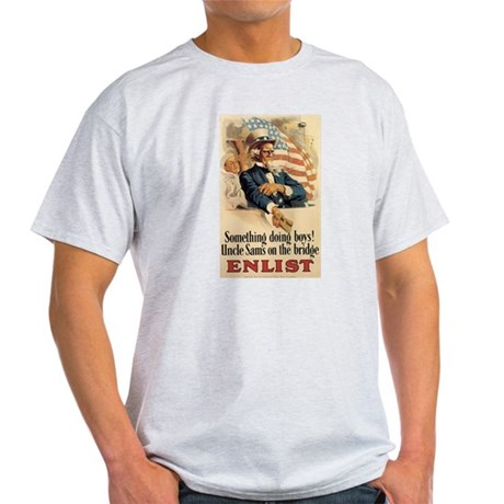 USN Uncle Sam Light T-Shirt