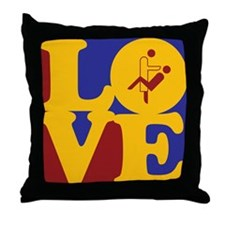 Dentistry Love Throw Pillow