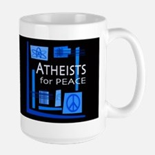 Atheists for Peace Dark Large Mug