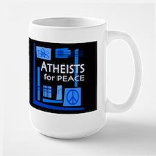 Atheists for Peace Dark Mug
