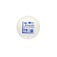 Atheists for Peace Mini Button (100 pack)