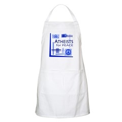 Atheists for Peace BBQ Apron