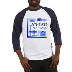 Atheists for Peace Baseball Jersey