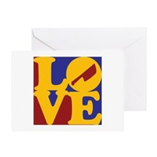 Cutting Meat Love Greeting Card