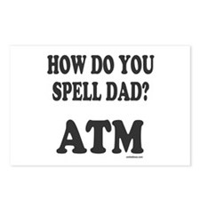 BANK OF DAD Postcards (Package of 8)