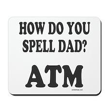 BANK OF DAD Mousepad