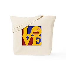 Curling Love Tote Bag