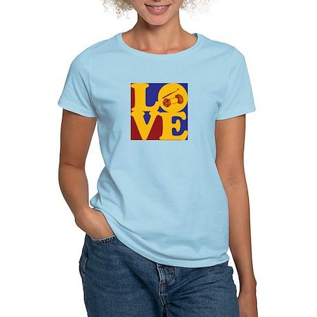 Crocheting Love Women's Light T-Shirt