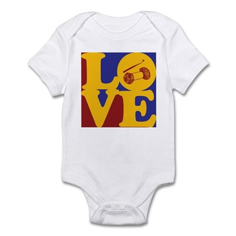 Crocheting Love Infant Bodysuit